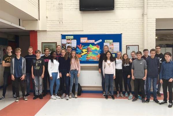 German Exchange students enjoy European Day of Languages at Nenagh CBS
