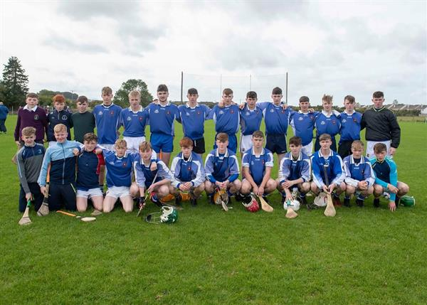 Success for Nenagh CBS in Round One of the Dean Ryan U16.5 A Hurling Competition