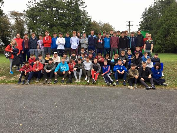 Fifth Year Bonding Day at Birr Outdoor Activity Centre