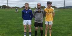 Nenagh CBS hurlers win Quarter Final of the Dean Ryan Cup