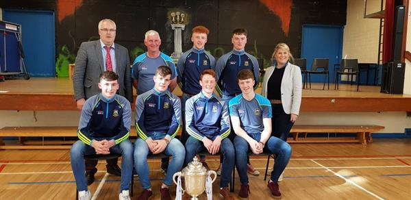 U21 All Ireland Hurling Champions return to their alma mater