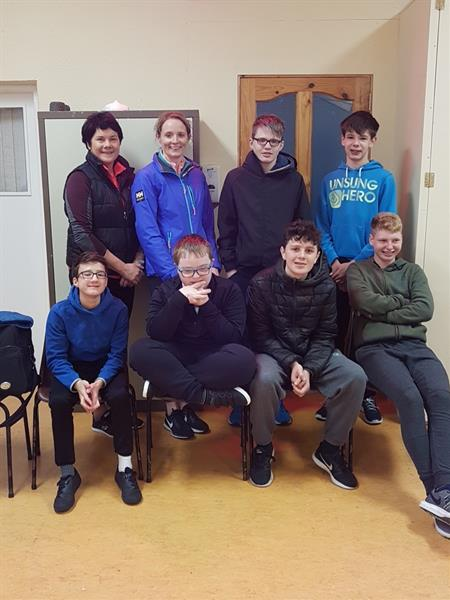 St. Justin's Class visit the Birr Outdoor Education Centre