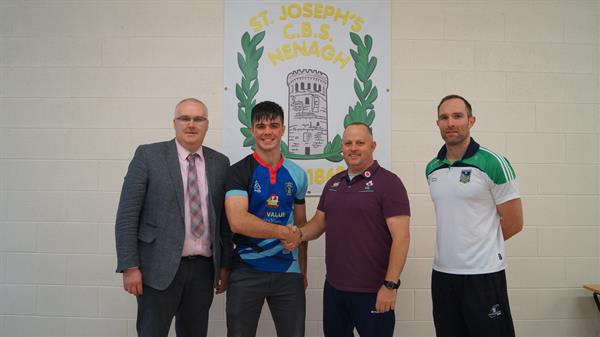 Dylan Murphy 5th yr to join U18 Ireland Rugby Clubs Team