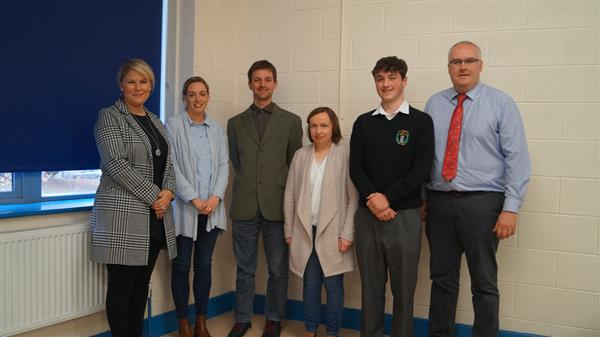 Past Pupil and documentary maker Nicholas Ryan-Purcell returns to his alma mater