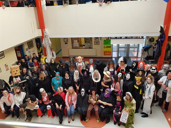 HALLOWE'EN DRESS UP Day FOR HOSPICE