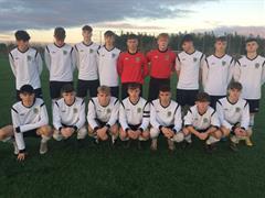 Callan Scully represents Munster in Soccer Interprovincial Tournament