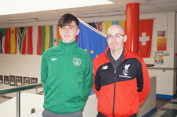Barry Coffey selected to represent Ireland in U18 Soccer Tournament