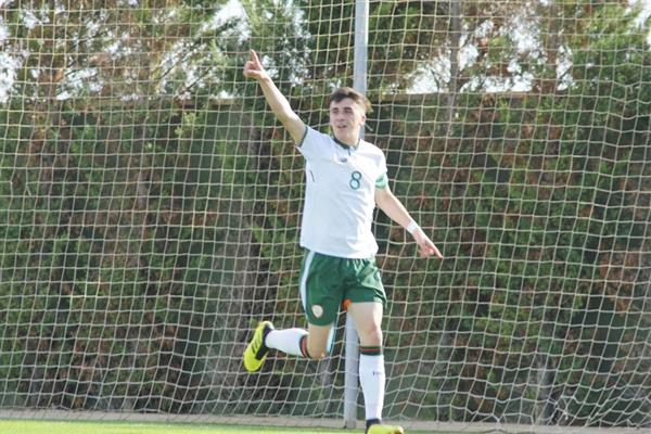 Former student Barry Coffey Captains Ireland's U18 Soccer Team