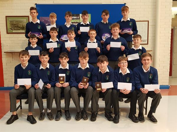 Second Year Geography Prizewinners of Farm/Factory Project