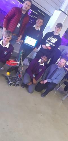 Robotics Club progress to National Final of Vex Robotics Competition