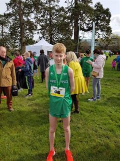 Tom Walshe wins Bronze Medal representing Ireland in Cross Country International Competition