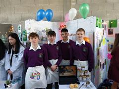 Transition Year Enterprise Group JJOG Jams in the Enterprise County Final