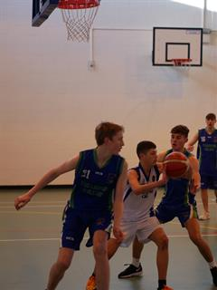 All Ireland Basketball Blitz U16 action at St. Joseph