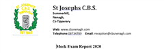 Mock Reports 2020 available on VSWare