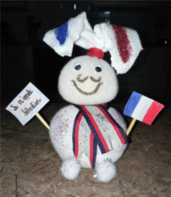 "First Year  ""Le lapin Francais"" Easter Competition"